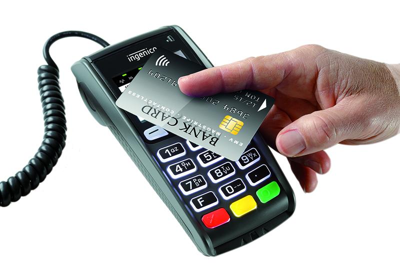 Contact less Card Swipe Machine