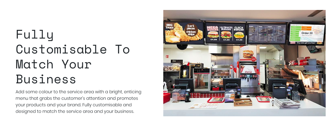 How Digital Menu Boards can save you money and modernise your business